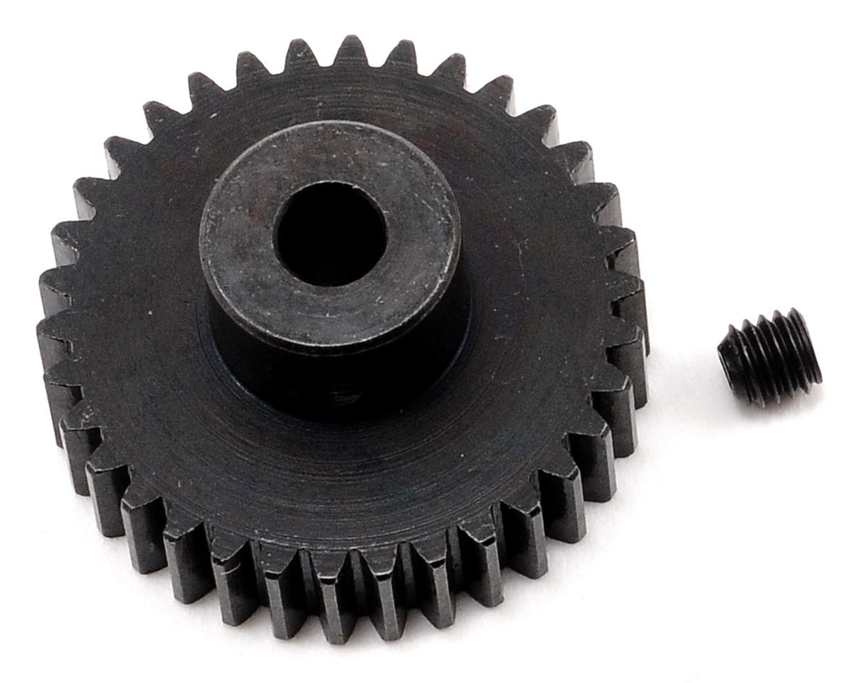 Team Trinity 48P Lightened Steel Pinion Gear (3.17mm Bore) (34T)