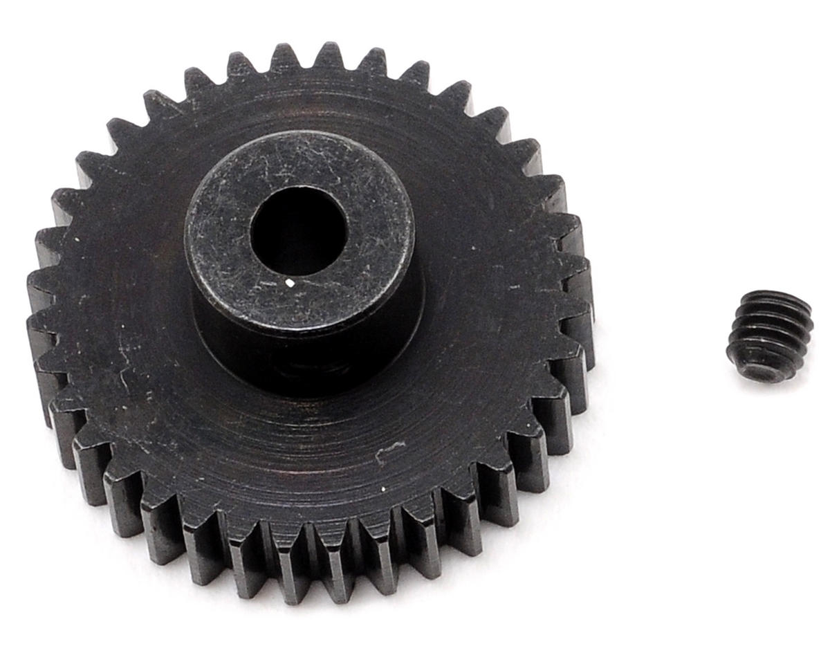 Team Trinity 48P Lightened Steel Pinion Gear (3.17mm Bore) (36T)