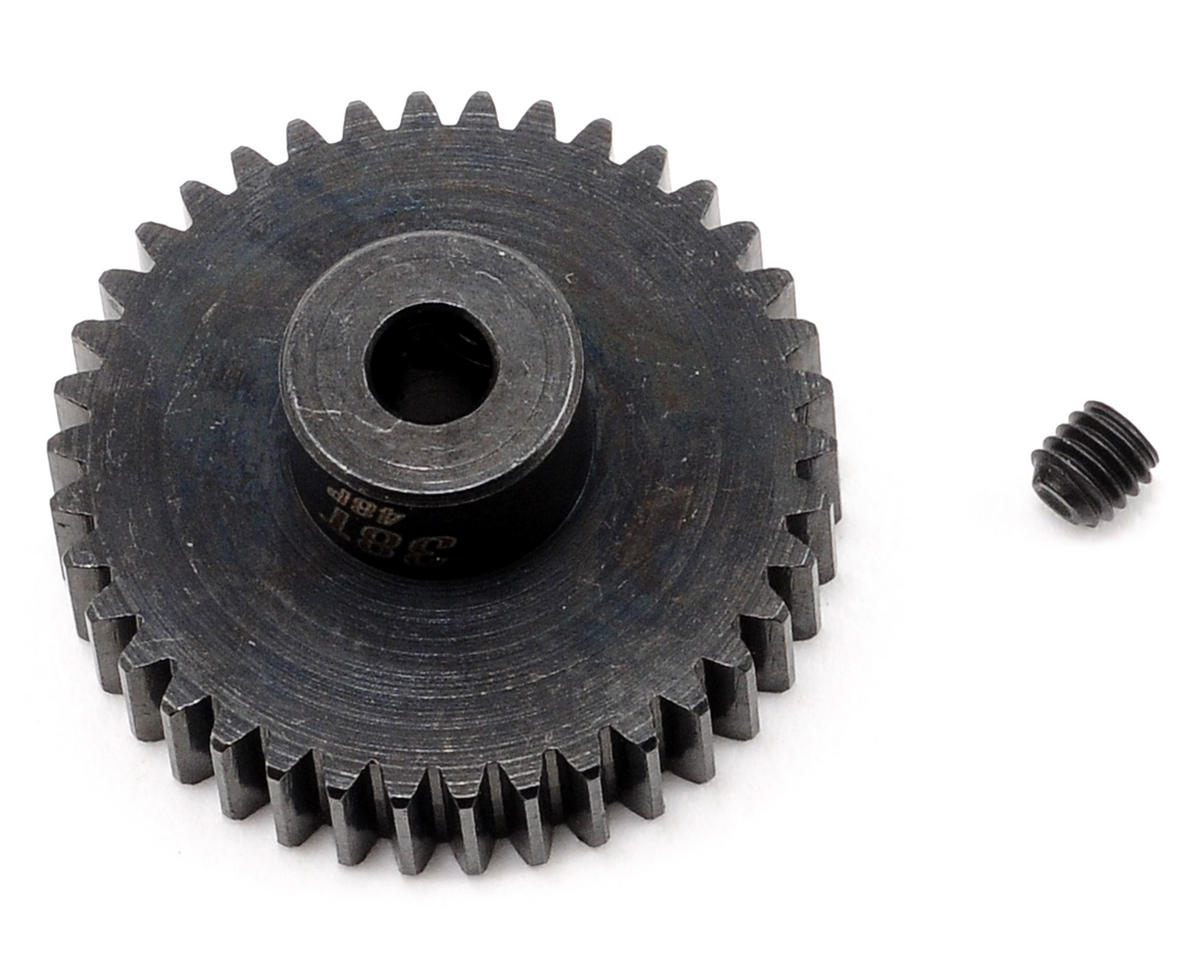 Team Trinity 48P Lightened Steel Pinion Gear (3.17mm Bore) (38T)