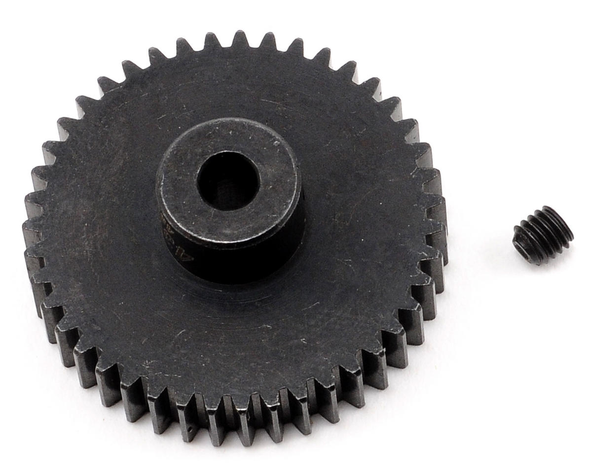 Team Trinity 48P Lightened Steel Pinion Gear (3.17mm Bore) (43T)