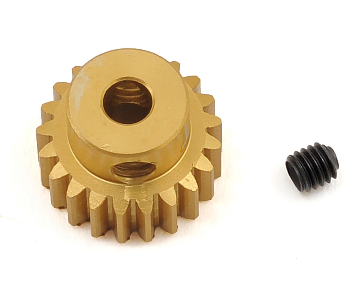 Team Trinity 48P Light Weight Aluminum Pinion Gear (3.17mm Bore) (21T)