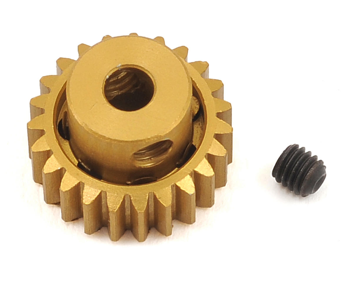 Team Trinity 48P Light Weight Aluminum Pinion Gear (3.17mm Bore) (23T)