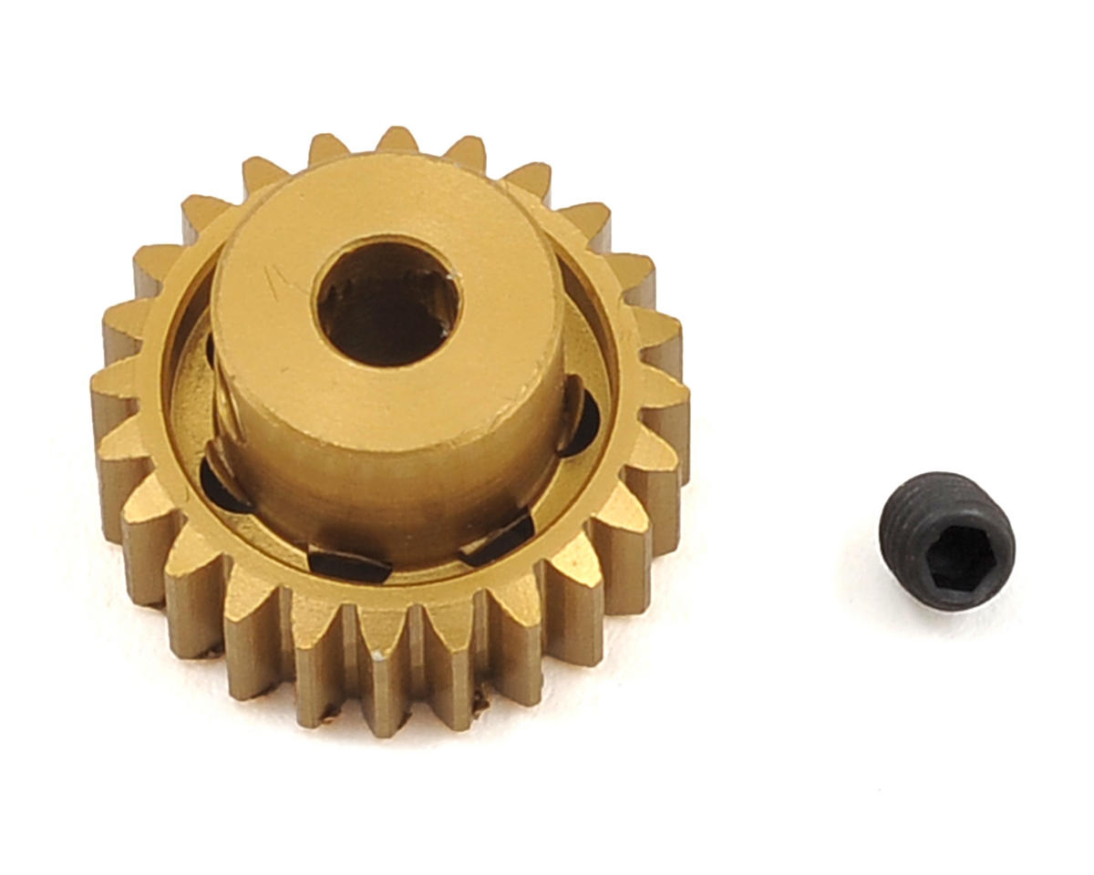 Team Trinity 48P Light Weight Aluminum Pinion Gear (3.17mm Bore) (24T)