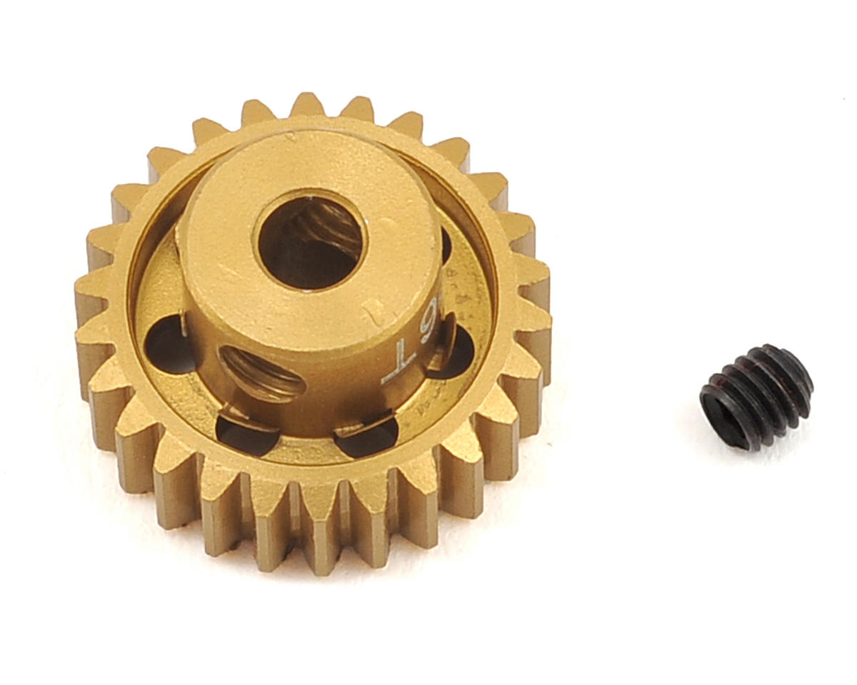Team Trinity 48P Light Weight Aluminum Pinion Gear (3.17mm Bore) (26T)