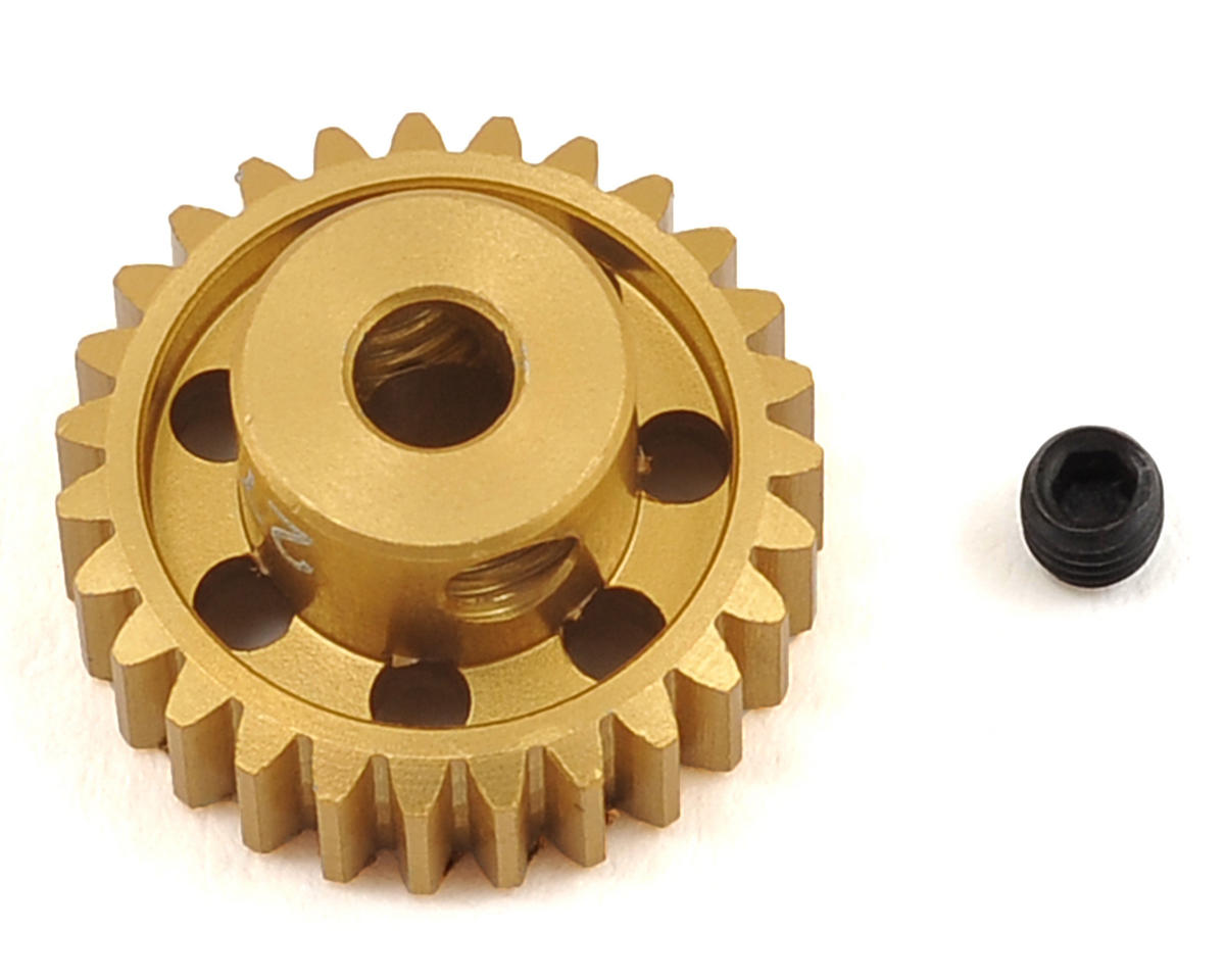 48P Light Weight Aluminum Pinion Gear (3.17mm Bore) (27T) by Team Trinity