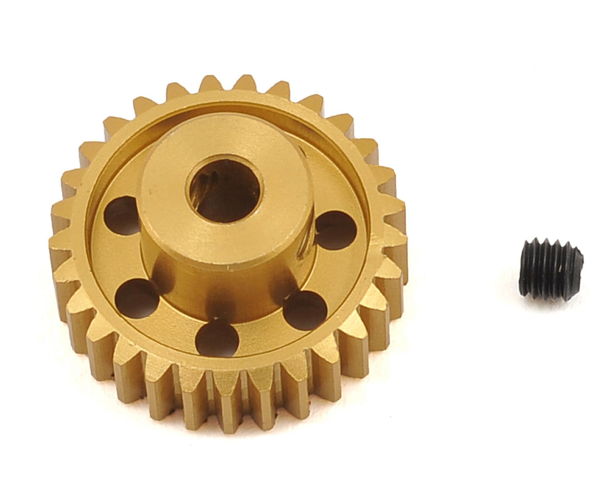 48P Light Weight Aluminum Pinion Gear (3.17mm Bore) (29T) by Team Trinity
