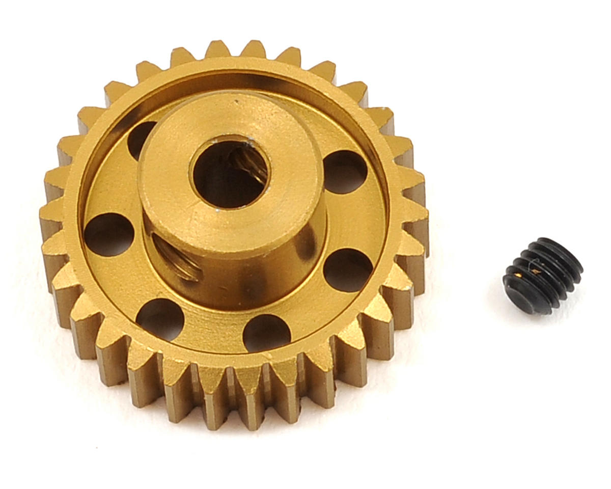 Team Trinity 48P Light Weight Aluminum Pinion Gear (3.17mm Bore) (30T)