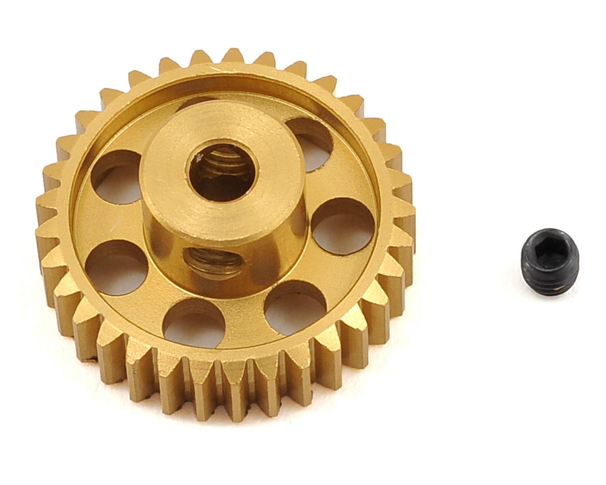 Team Trinity 48P Light Weight Aluminum Pinion Gear (3.17mm Bore) (33T)
