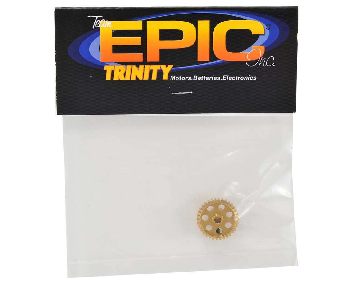 Team Trinity 48P Light Weight Aluminum Pinion Gear (3.17mm Bore) (34T)