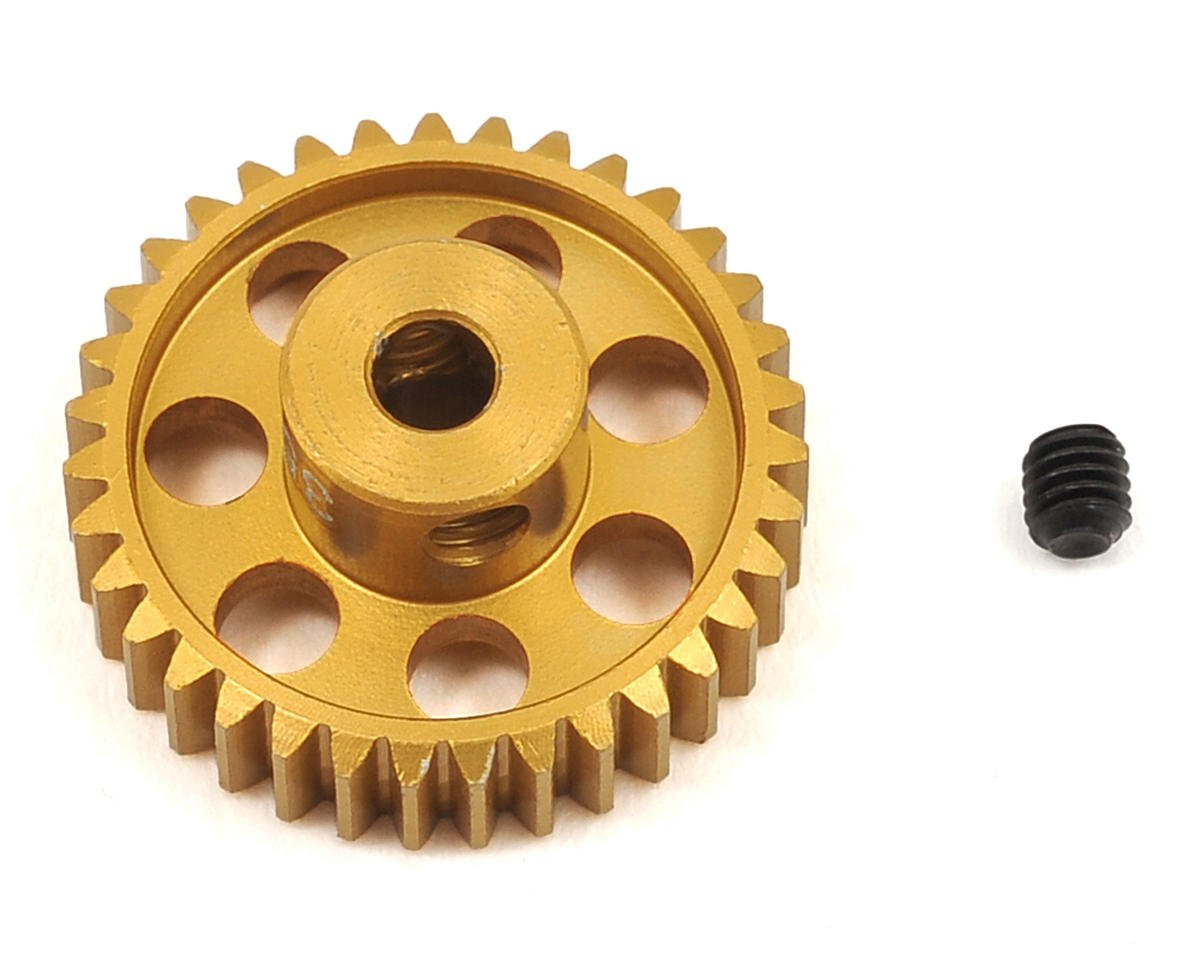 48P Light Weight Aluminum Pinion Gear (3.17mm Bore) (35T) by Team Trinity
