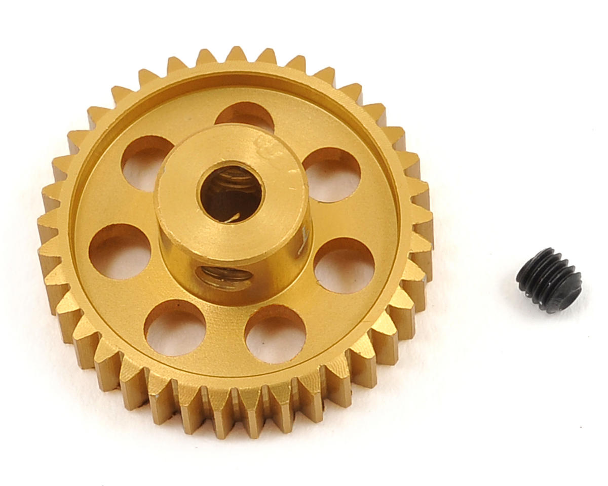 48P Light Weight Aluminum Pinion Gear (3.17mm Bore) (37T) by Team Trinity