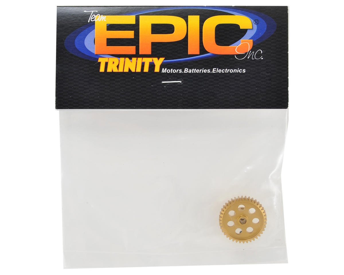 Team Trinity 48P Light Weight Aluminum Pinion Gear (3.17mm Bore) (40T)
