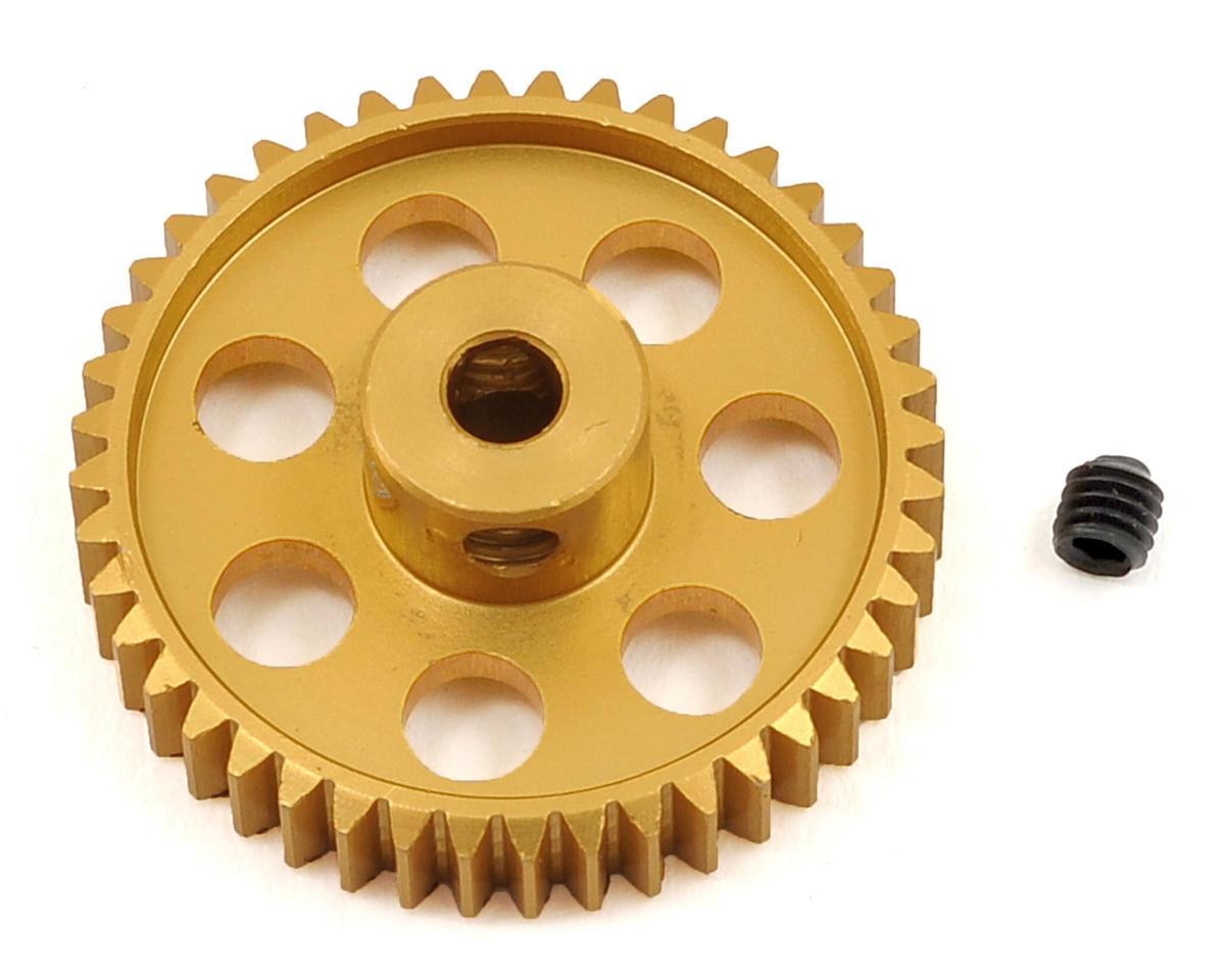 Team Trinity 48P Light Weight Aluminum Pinion Gear (3.17mm Bore) (44T)