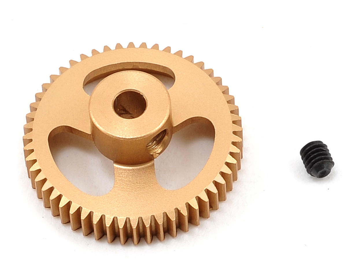 Team Trinity 64P Featherweight Hard Anodized Aluminum Pinion Gear