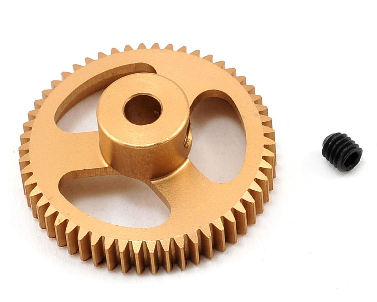 Team Trinity 64P Featherweight Hard Anodized Aluminum Pinion Gear (54T)