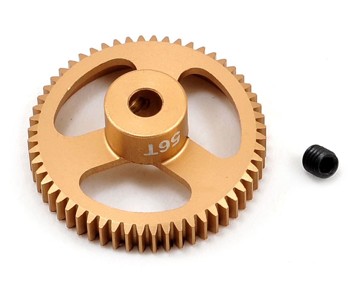 Team Trinity 64P Featherweight Hard Anodized Aluminum Pinion Gear (56T)