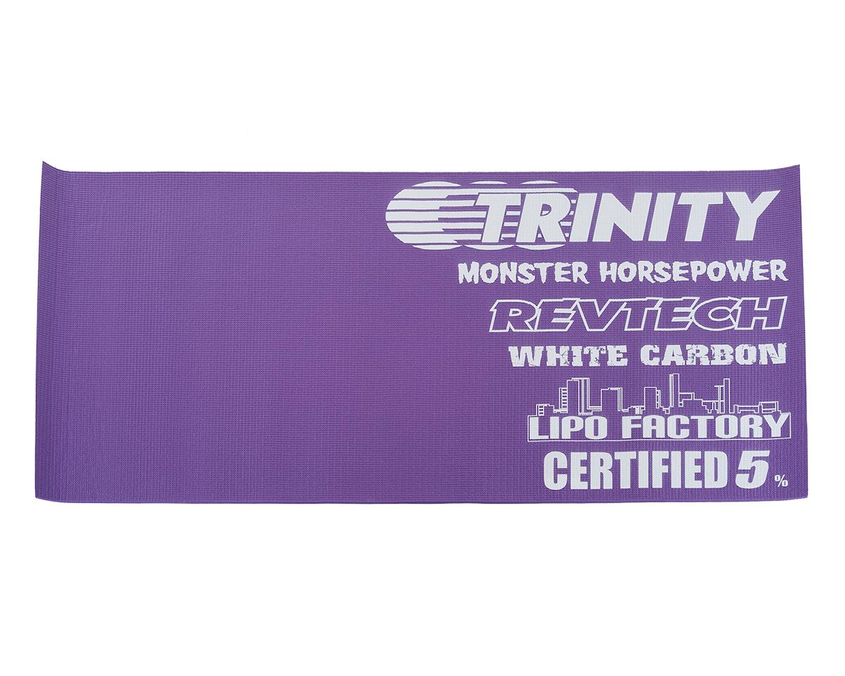 Team Trinity Team Logo Pit Mat (61x114cm)