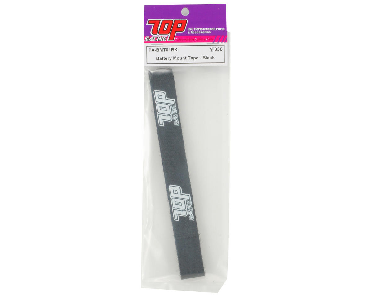 T.O.P Racing Products Battery Mount Strap (Black)