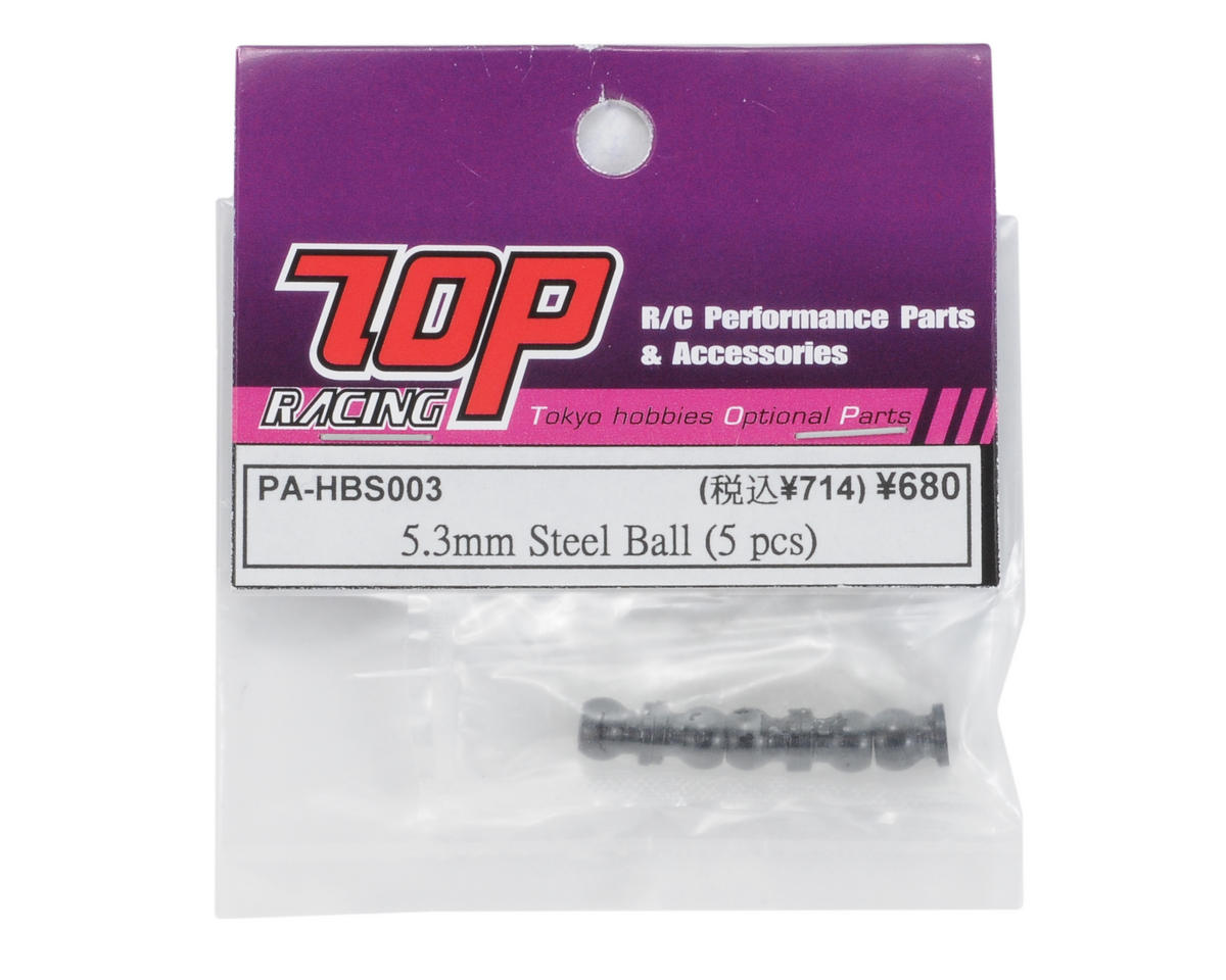 T.O.P Racing Products 5.3mm Steel Ball (5)