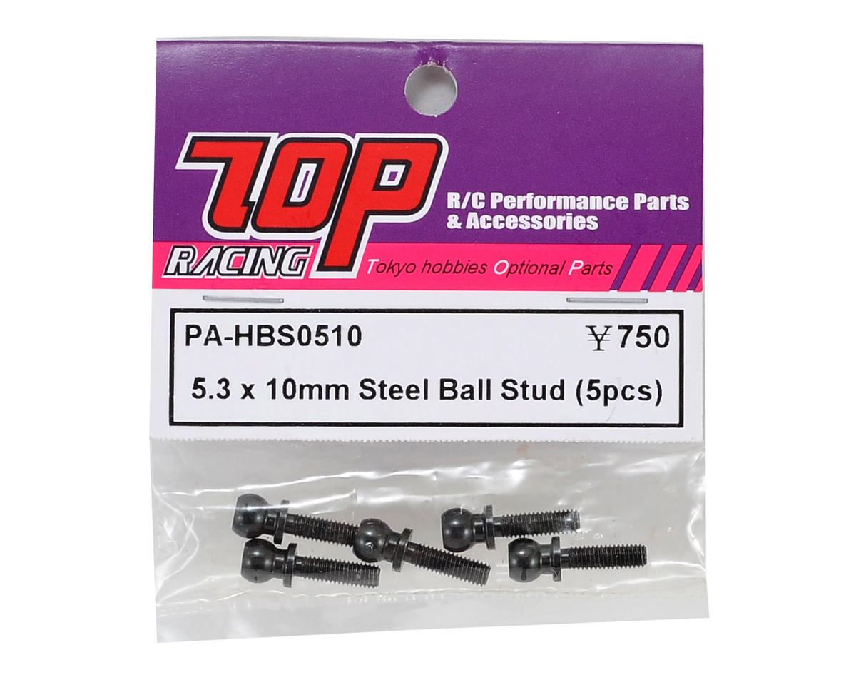 T.O.P Racing Products 5.3x10mm Ball Stud (5)