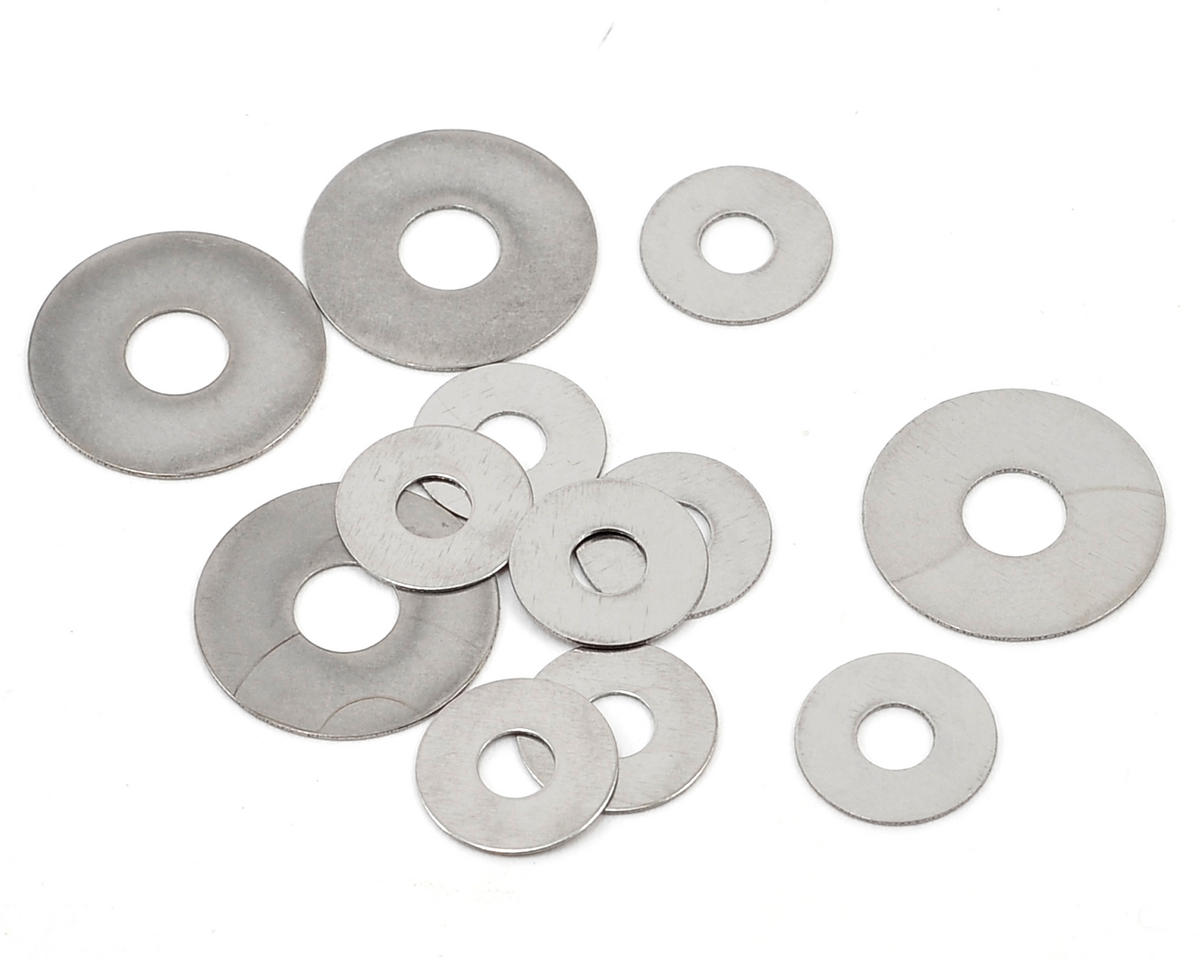 T.O.P Racing Products Hard Shim Set (Large - 4/Small - 8)