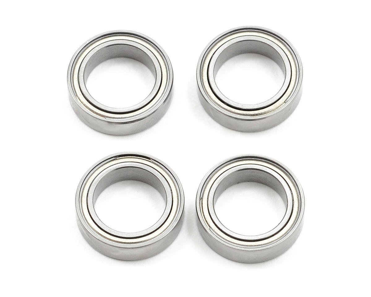 T.O.P Racing Products 10x15x4mm Ball Bearing (4)