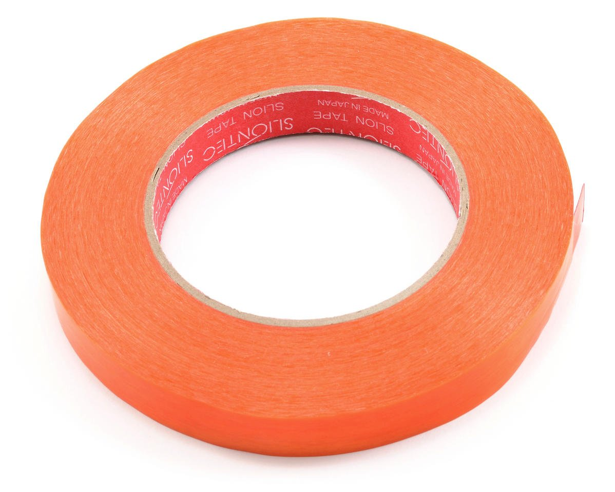 T.O.P Racing Products Fiberglass Battery Strapping Tape (Orange) (50mx16mm)