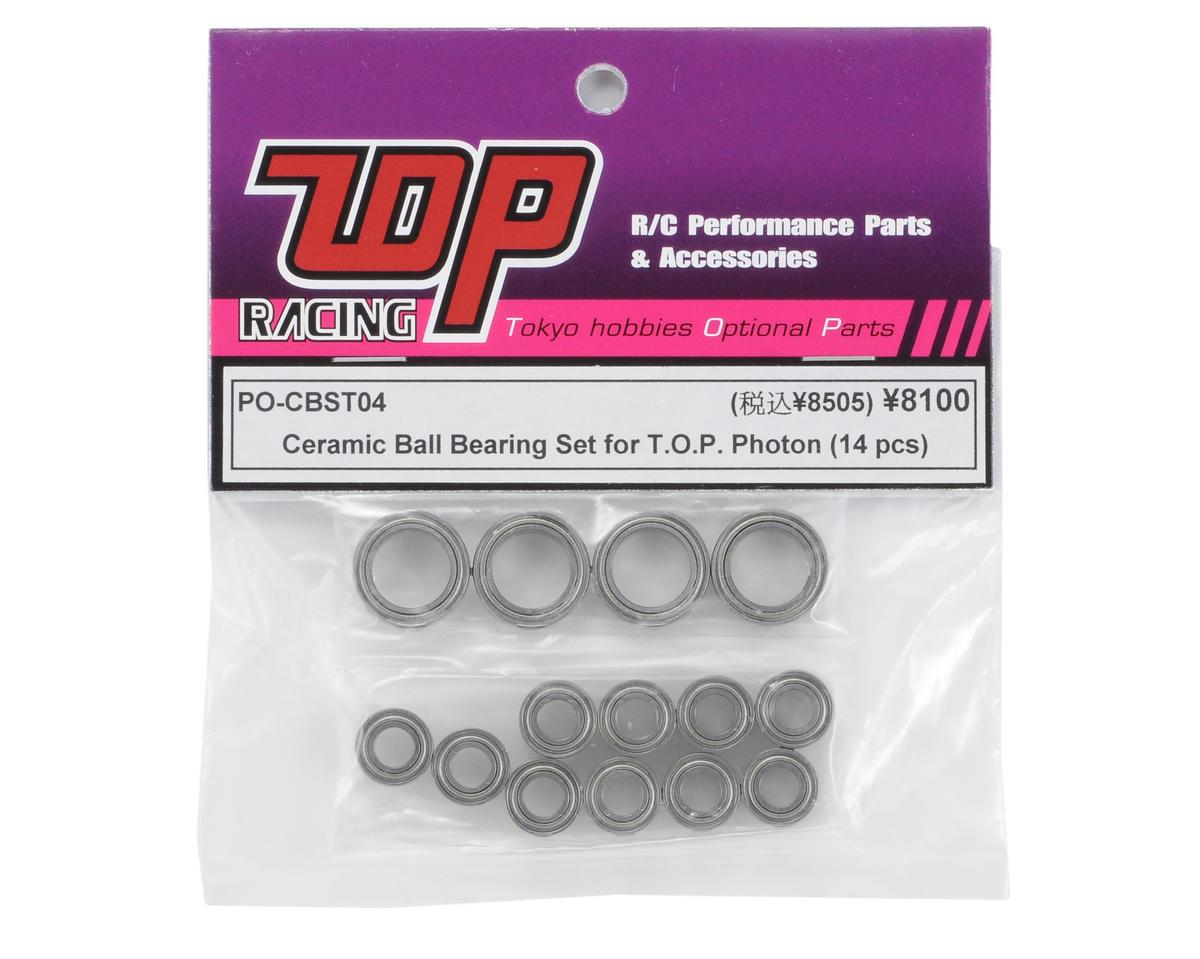T.O.P Racing Products Ceramic Ball Bearing Set (14)
