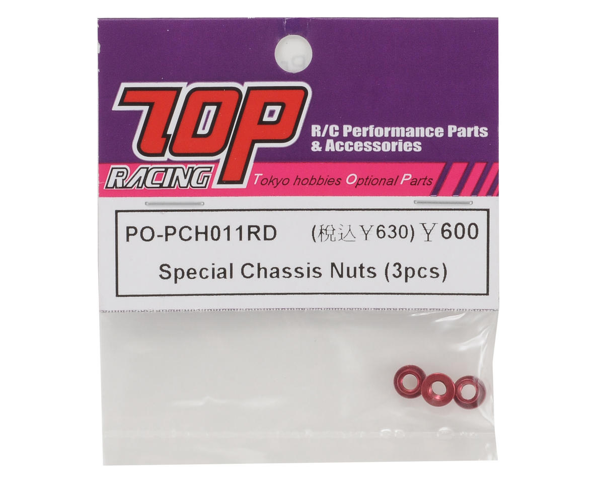 T.O.P Racing Products Special Chassis Nut Set (3)