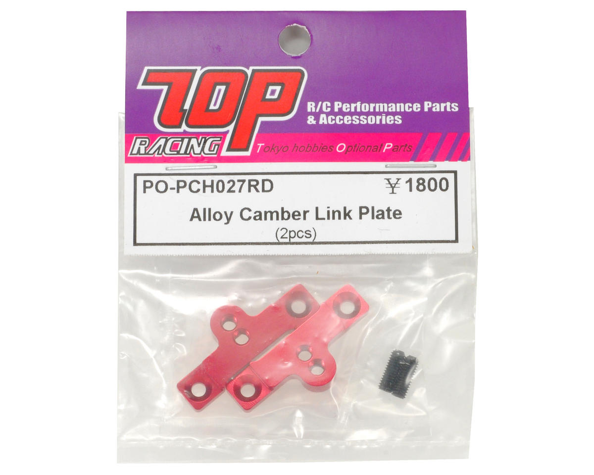 T.O.P Racing Products Alloy Camber Link Plate Set (2)
