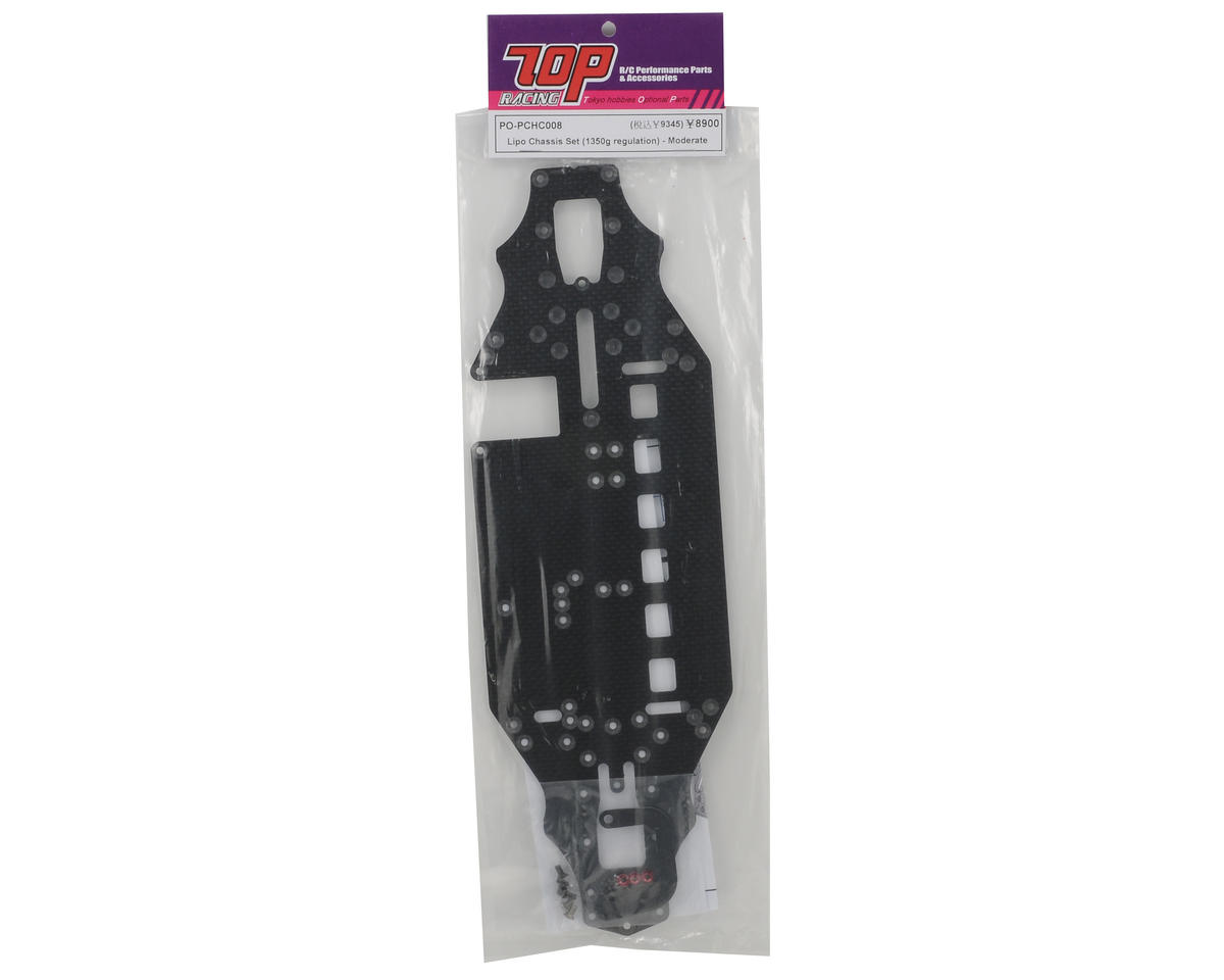"""T.O.P Racing Products """"Standard"""" LiPo Chassis Set"""