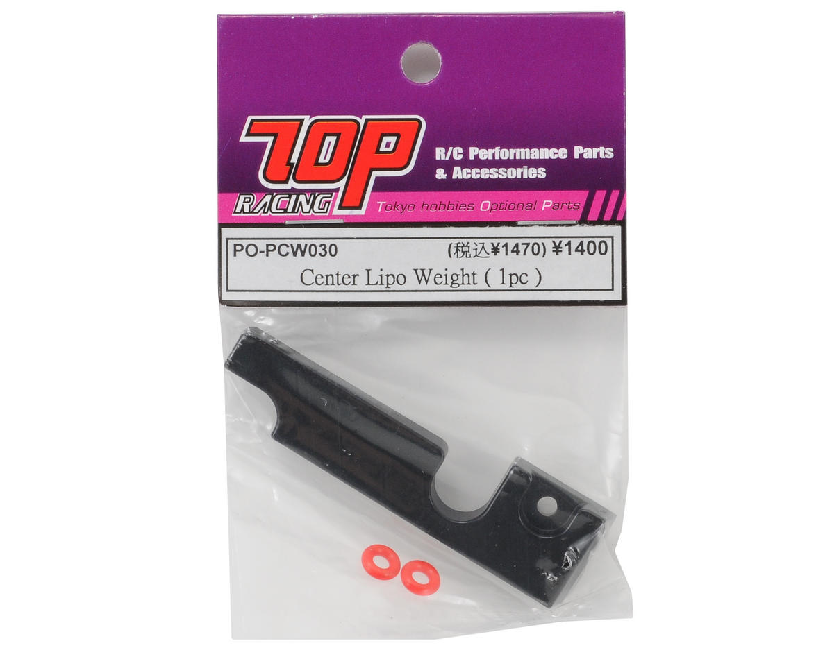 T.O.P Racing Products Center Lipo Weight