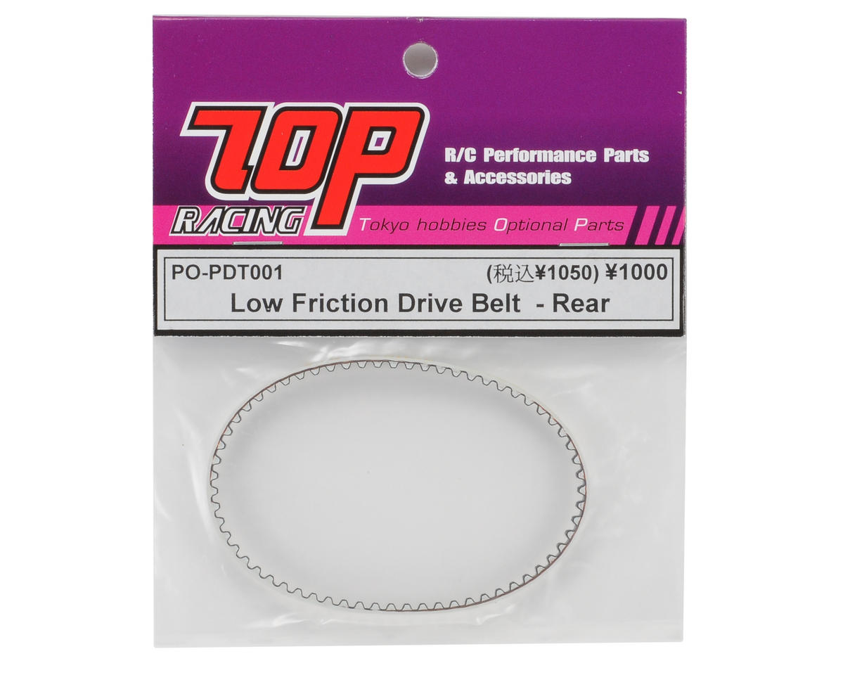 T.O.P Racing Products Rear Low Friction Belt