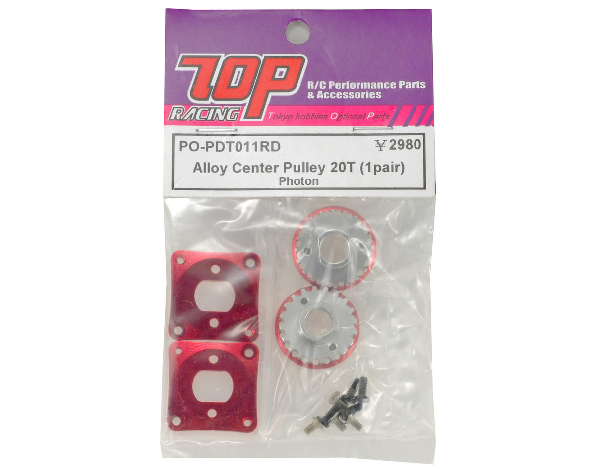 T.O.P Racing Products Alloy 20T Center Pulley Set