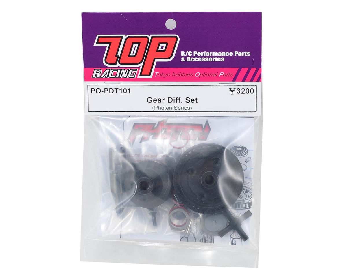 T.O.P Racing Products Gear Differential Set