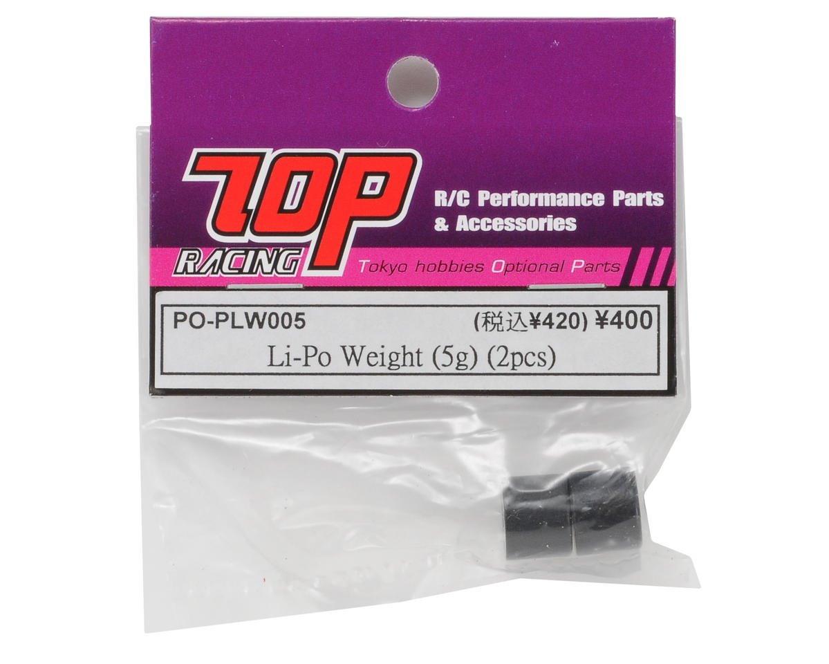 T.O.P Racing Products Li-Po Weight (5g) (2)