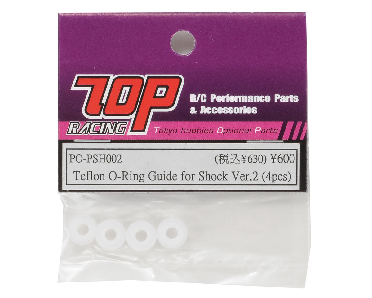 T.O.P Racing Products Ver.2 Shock Teflon O-Ring Guide Set (4)