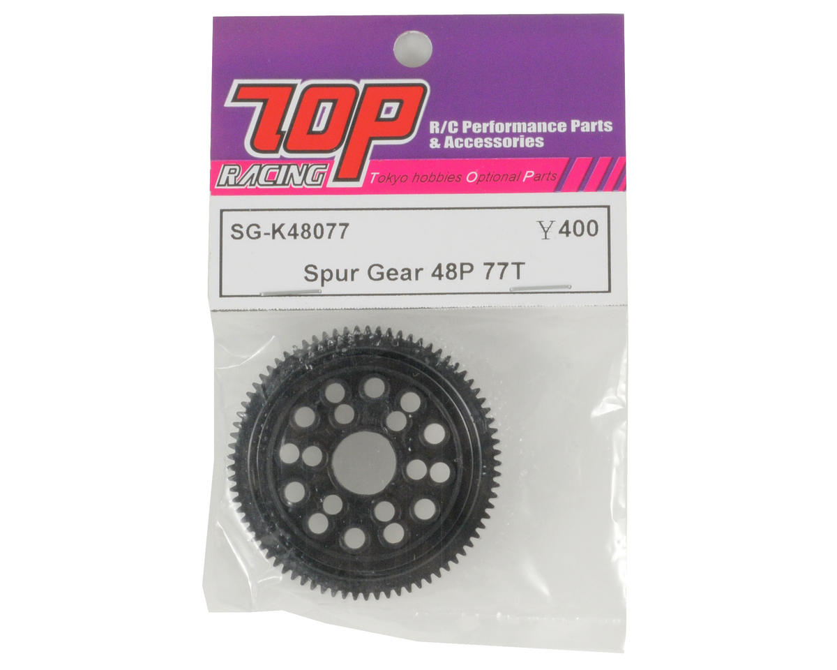 T.O.P Racing Products 48P Spur Gear (77T)