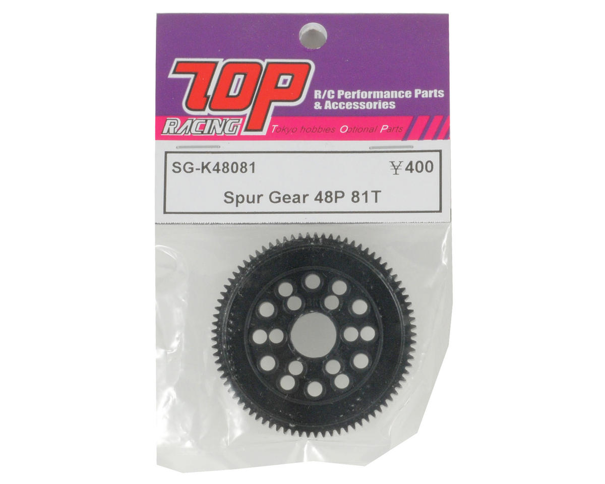 T.O.P Racing Products 48P Spur Gear (81T)