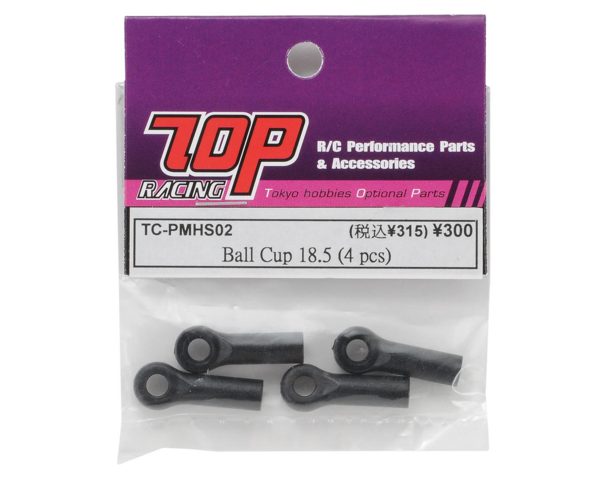 T.O.P Racing Products 18.5mm Ball Cup (4)