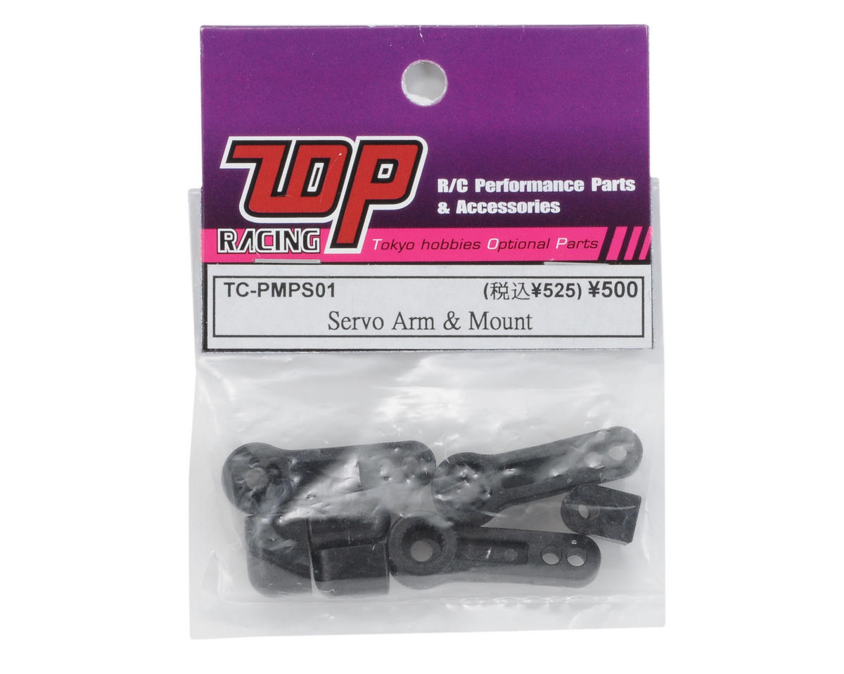 T.O.P Racing Products Servo Arm & Mount