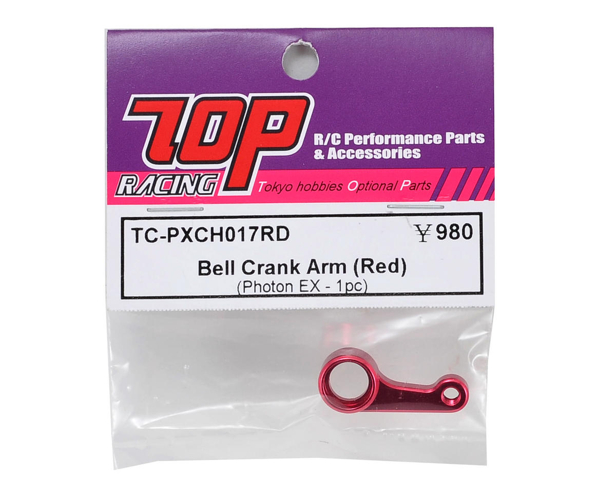 T.O.P Racing Products Bellcrank Arm (Red)