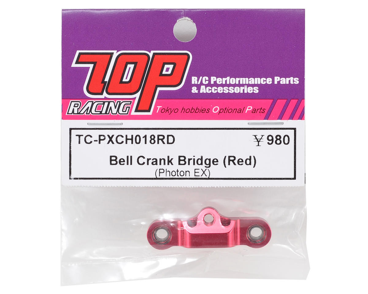 T.O.P Racing Products Bellcrank Bridge (Red)