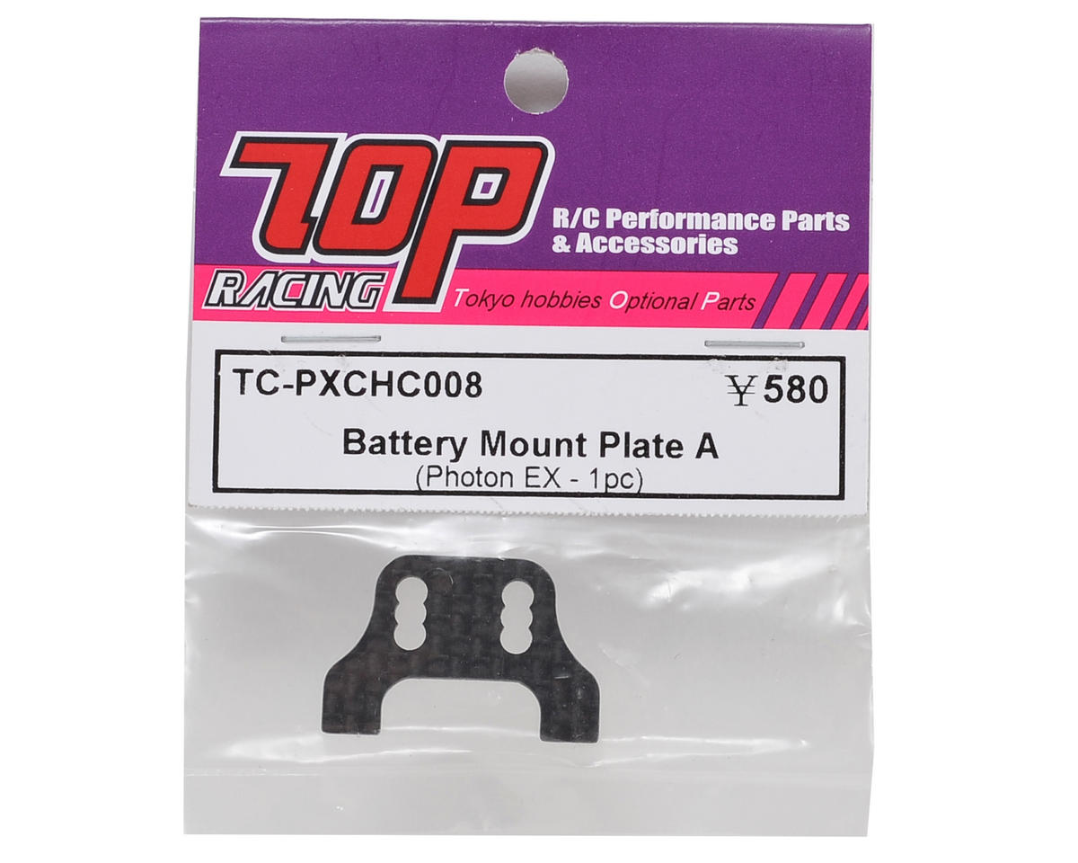 T.O.P Racing Products Battery Mount Plate A