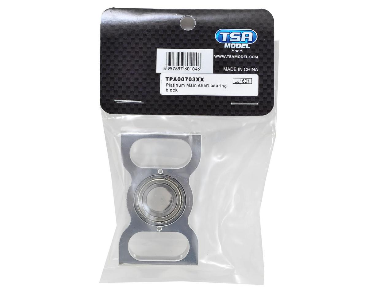 TSA Model Platinum Main Shaft Bearing Block