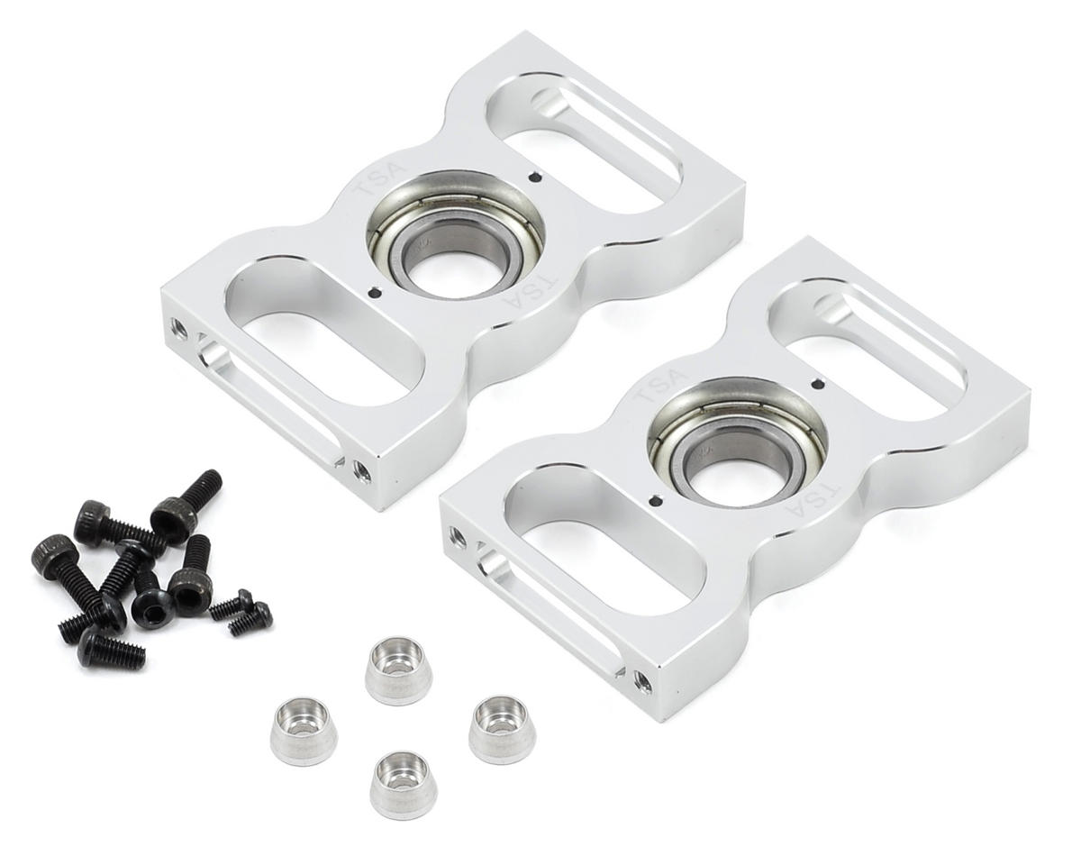 Platinum Main Shaft Bearing Block Set by TSA Model