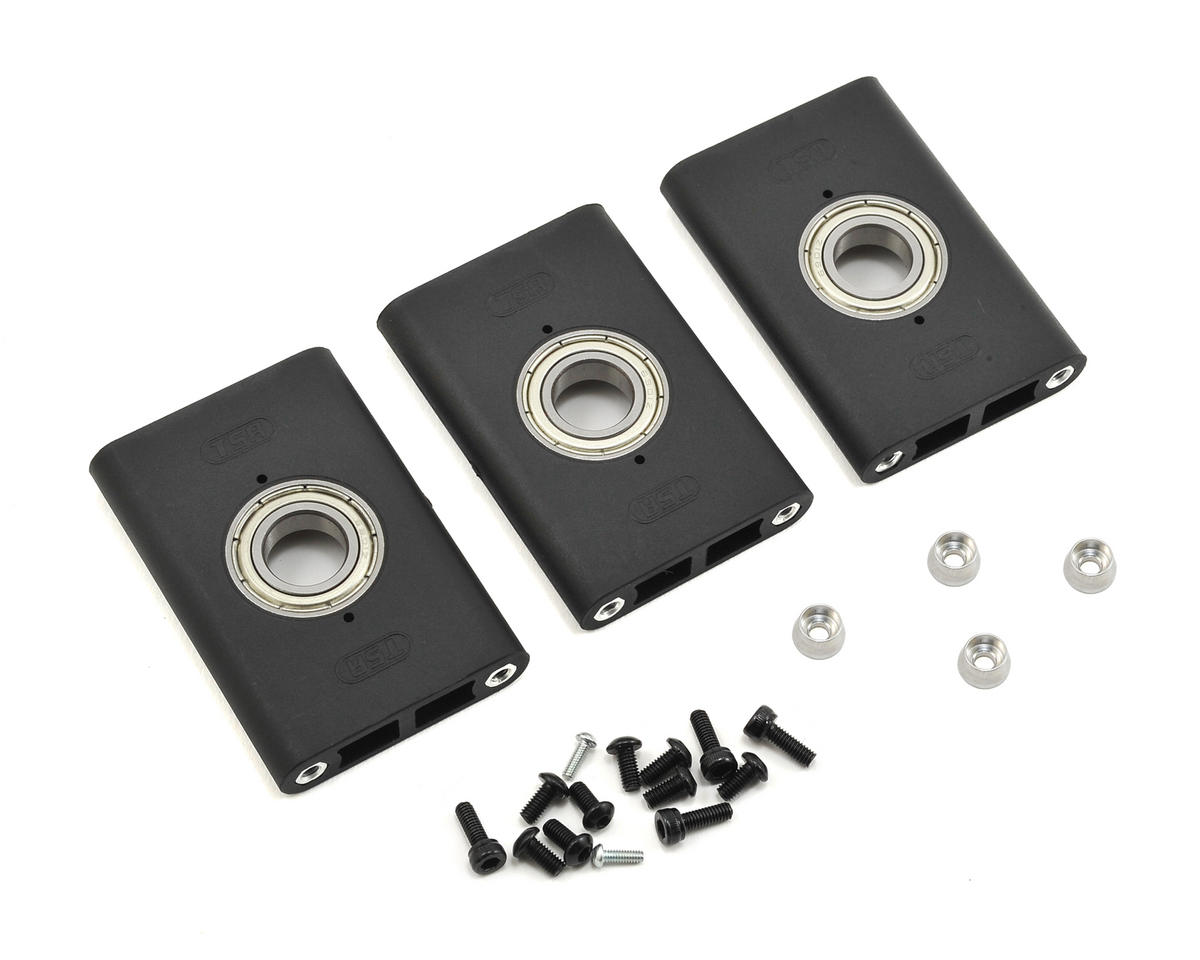 TSA Model Infusion 600E Pro 600 Main Shaft Bearing Block Set