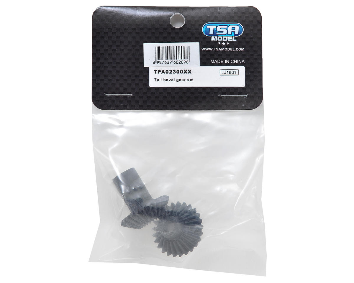 TSA Model Bevel Tail Gear Set