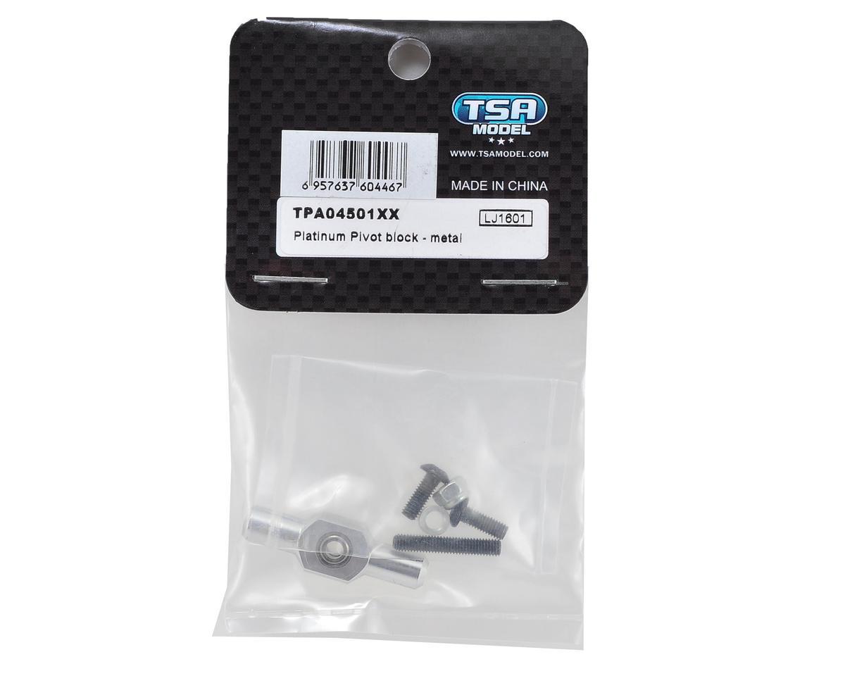 TSA Model Platinum Metal Pivot Block