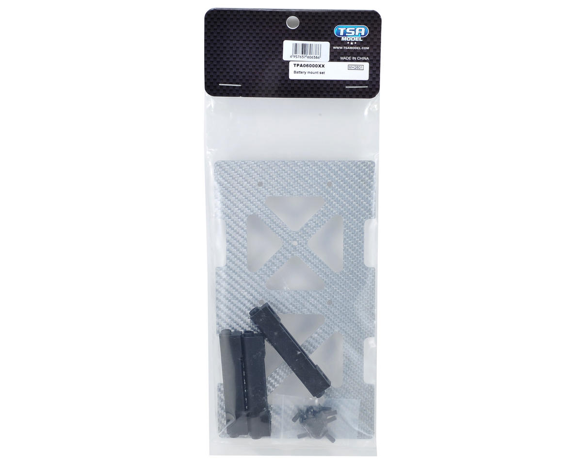 TSA Model Battery Mount Set